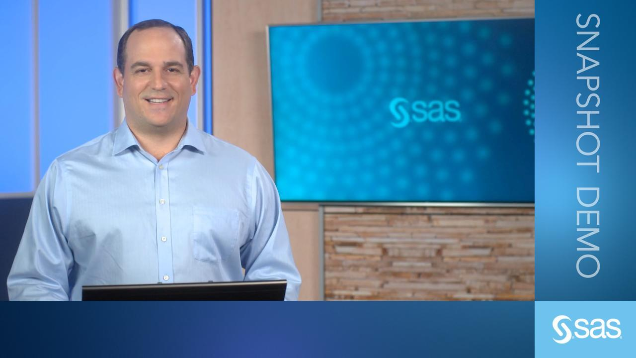 SAS Event Stream Processing | SAS