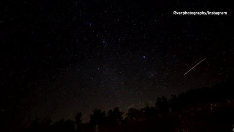 THIS MONDAY NIGHT YOU COULD BE IN FOR A SHOW WITH THE ORIONID METEOR SHOWER PRODUCING 15-10 PER HOUR