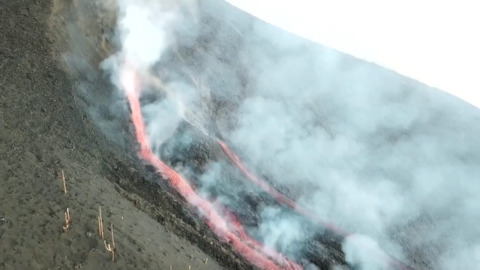 Force of Nature: Lava flows from new openings on La Palma island