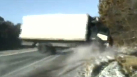 TERRIFYING CRASH CAUGHT ON CAMERA BEING DUBBED 'MIRACLE'