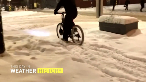 VANCOUVER WOKE UP TO 40CM OF SNOW ON THIS DAY LAST YEAR