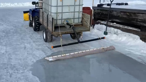 WHICH HOMEMADE ICE RESURFACING MODEL WOULD YOU CHOOSE?