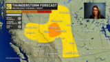 July-like temperatures return to the Prairies