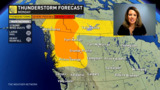 Severe weather in play for the next two days in an area we don't usually get it, B.C.