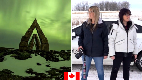 GET TO KNOW CANADA'S AURORA CHASING TEAM AND WHAT IT TAKES TO GET THESE IMAGES