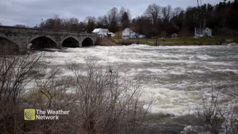 """HIGHEST THE RIVER HAS EVER BEEN"" - SCARY VISUALS OUT OF ONTARIO"