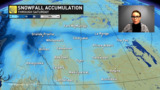 MORE winter weather for the Prairies with a couple rounds of snow