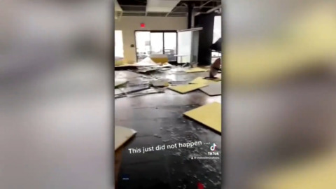 Employees run for cover as tornado hits car dealership: Force of Nature