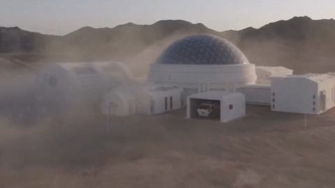 NEW MARS SIMULATOR IN THE DESERT WILL BE OPEN TO TOURISTS