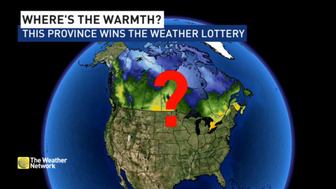 The Weather Network - MAY: Disappointing outlook, but one province