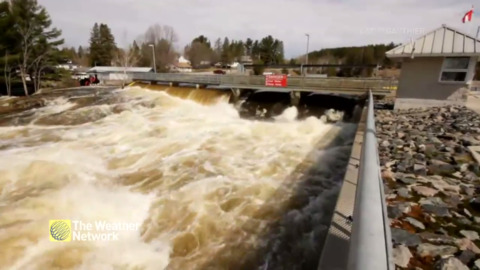 THIS IS HOW POWERFUL THE WATER IN KAWARTHA LAKES IS