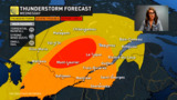 Can't rule out 'ISOLATED TORNADO' in these parts of Quebec