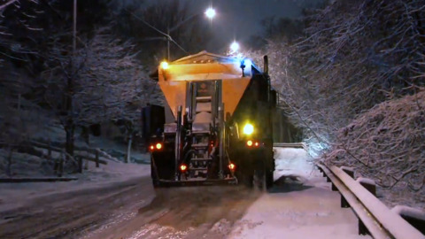 WHY DO WE USE ROAD SALT TO MELT SNOW AND ICE?