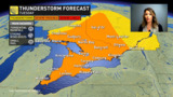 Quebec: Showers and storms, on the doorstep of a heatwave