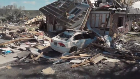 A LOOK BACK AT THE MASS DESTRUCTION 6 TORNADOES HAD ON THE OTTAWA-GATINEAU AREA