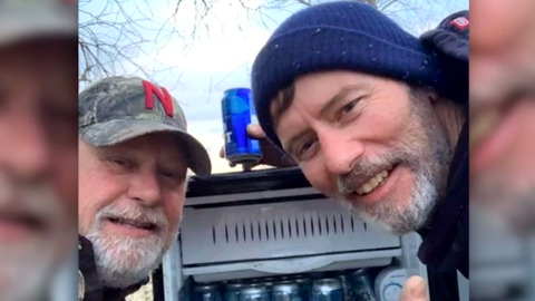 TWO MEN UNCOVER A GREAT SURPRISE WHILE CLEANING UP NEBRASKA FLOODS
