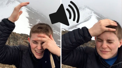 SOUND ON: HIKER CAPTURES STRANGE NOISE ON MOUNTAIN TOP