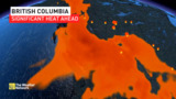 Another warm stretch to finish off May, details here B.C.