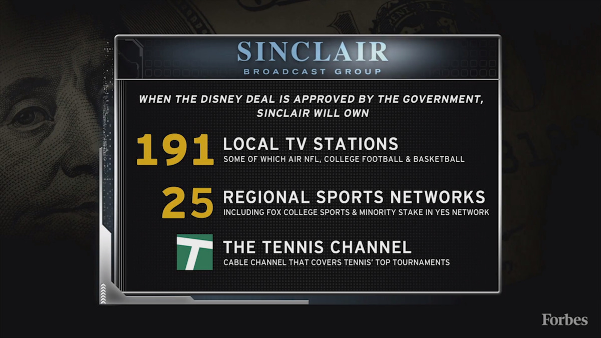 Why Sinclair And The Yankees Got Good Deals Buying Disney's