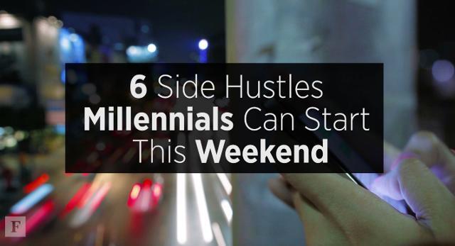 15 Easy Side Hustles Millennials Can Start This Weekend