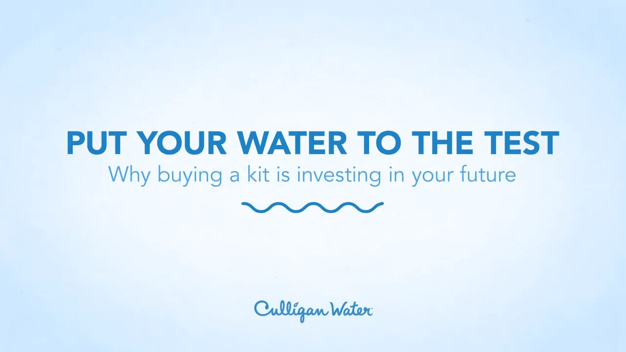 Home Water Testing - Water Treatment Test | Hey Culligan