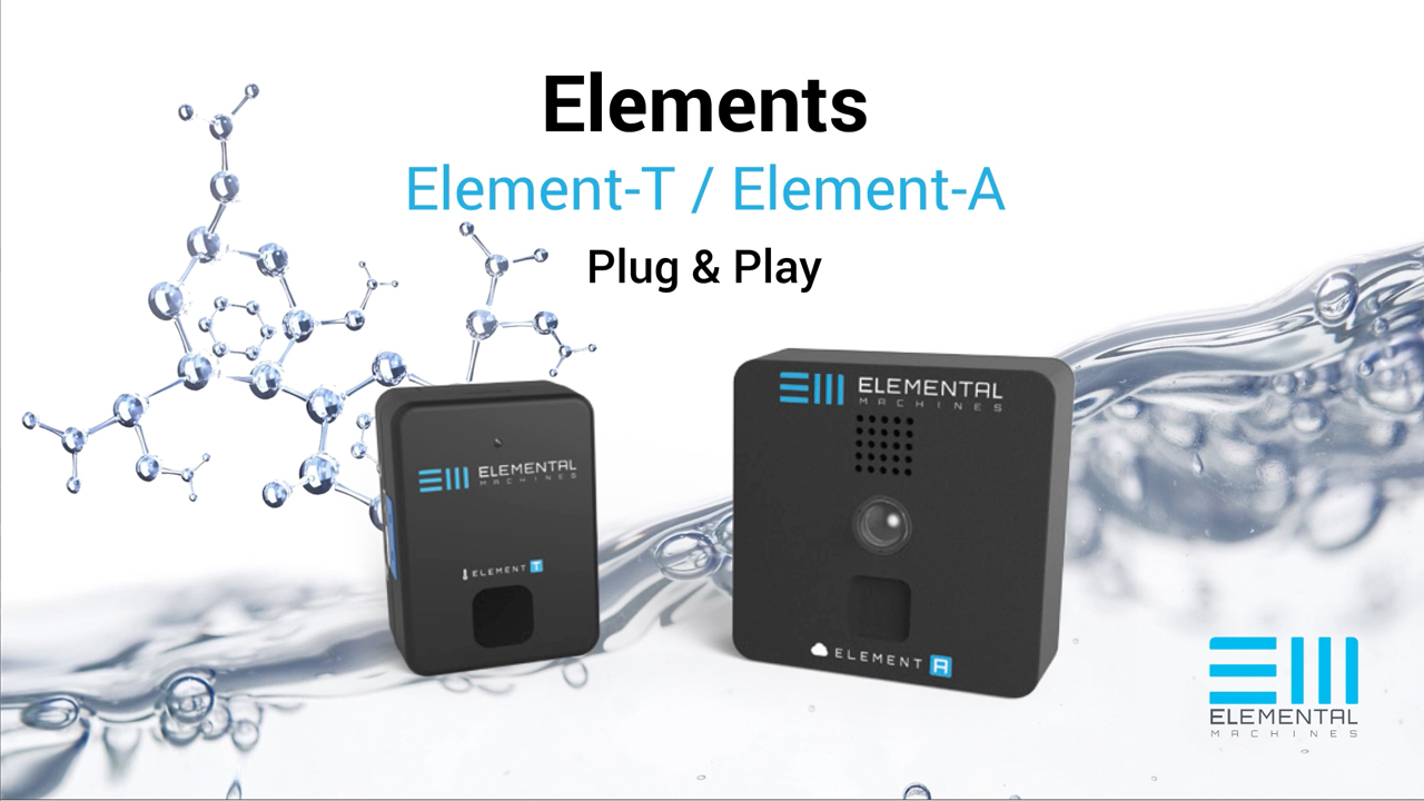 Cloud Connected IoT Sensors and Software from Elemental Machines