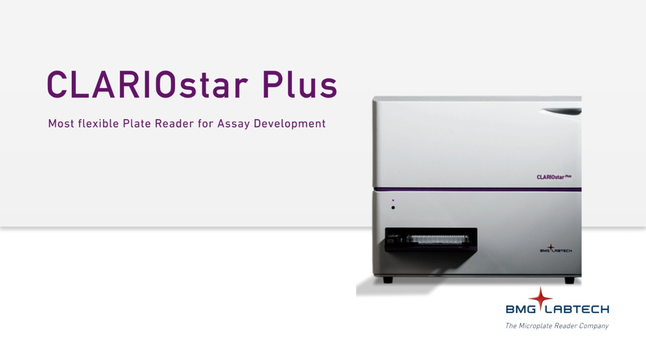 Watch Video: BMG Labtech - CLARIOstar® Plus | Biocompare