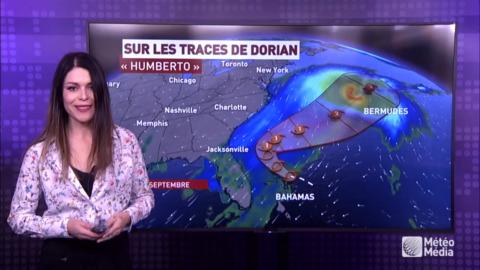 TEMPÊTE TROPICALE : HUMBERTO SOUS SURVEILLANCE DANS L'ATLANTIQUE