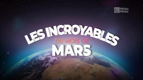 LES INCROYABLES DU MOIS DE MARS