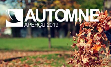 AUTOMNE 2019 : D'UN EXTRÊME À UN AUTRE !