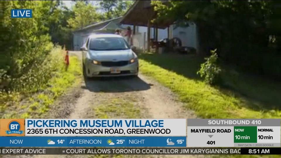 History of Pickering Museum Village