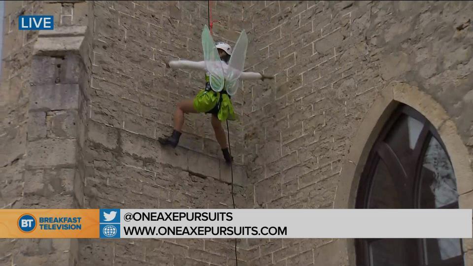 Tinker Bell flies high at One Axe Pursuits