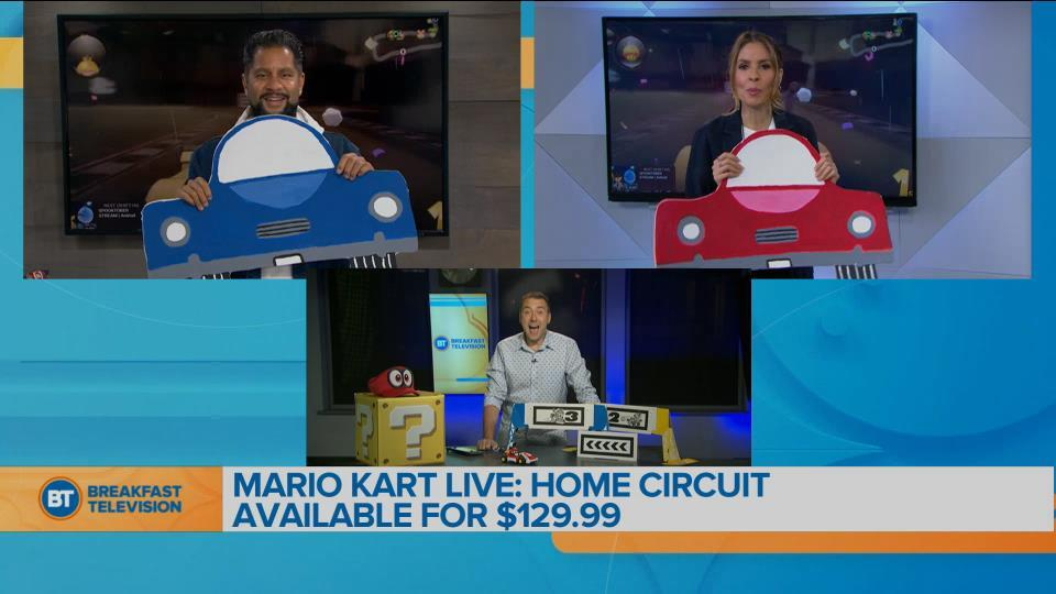 Wednesday Tech Update with Mike Yawney – Mario Kart Live: Home Circuit