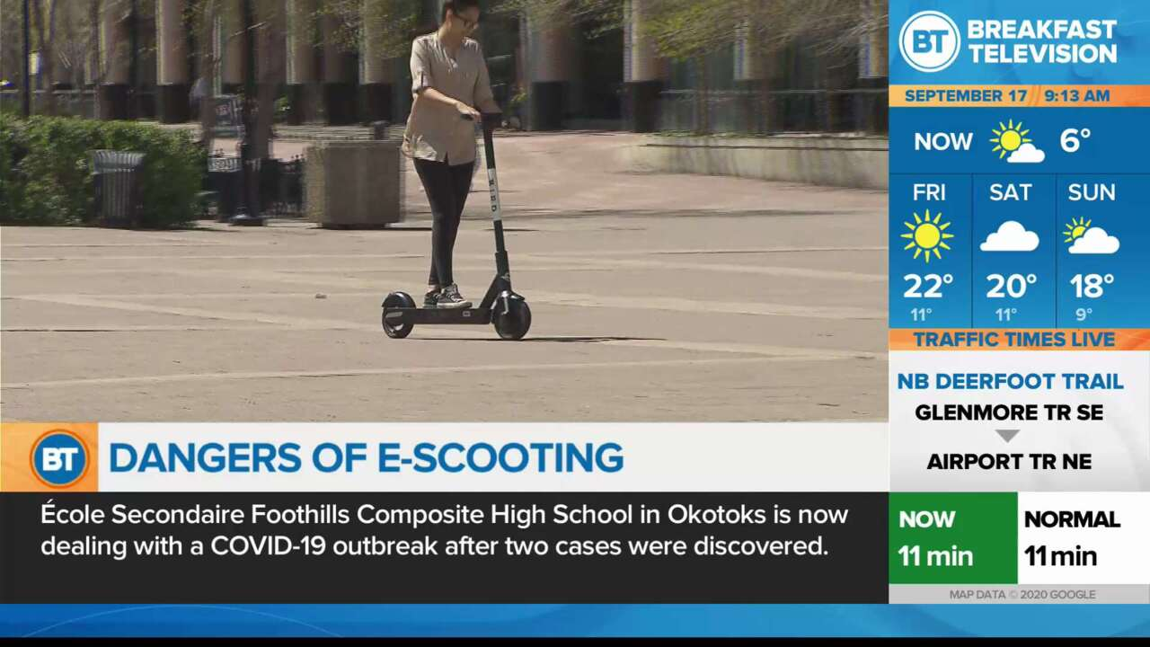 Dangers of E-Scooting