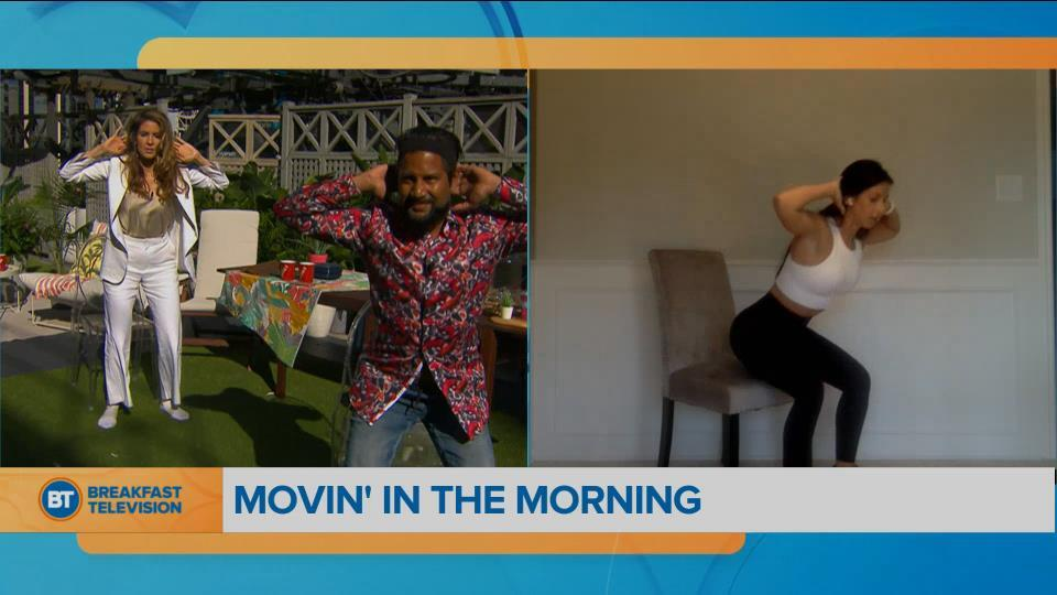 Movin' in the Morning: chair-robics!