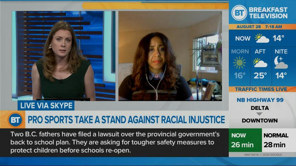 Taking a stand against racial injustice