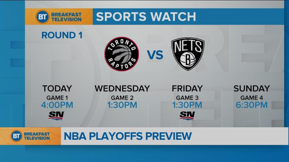 Toronto opens playoff run today