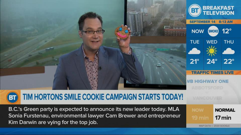 It's Smile Cookie week at Time Hortons!