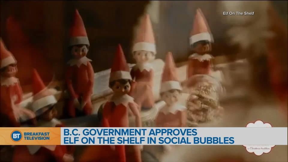 BT Bright Spot: B.C. Government approves elf on the shelf in social bubbles