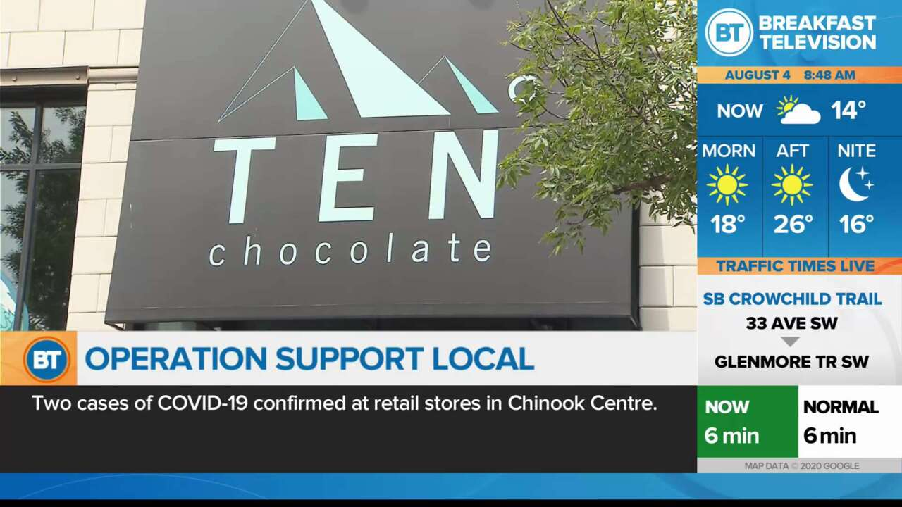 Operation Support Local: Ten Degrees Chocolate