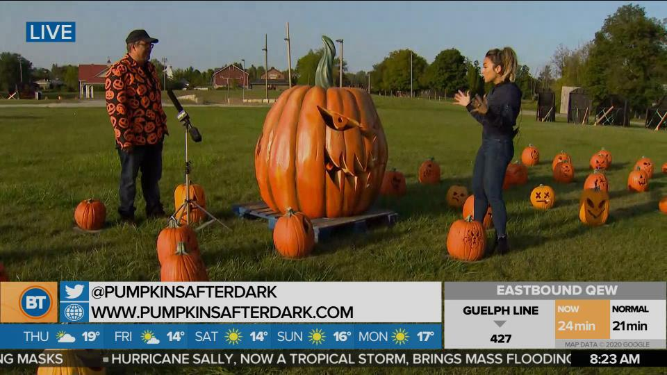 Nicole is LIVE at Pumpkins After Dark (4 of 5)