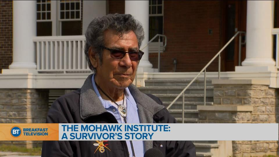 Survivor Geronimo Henry recalls his experience at the Mohawk Institute Residential School
