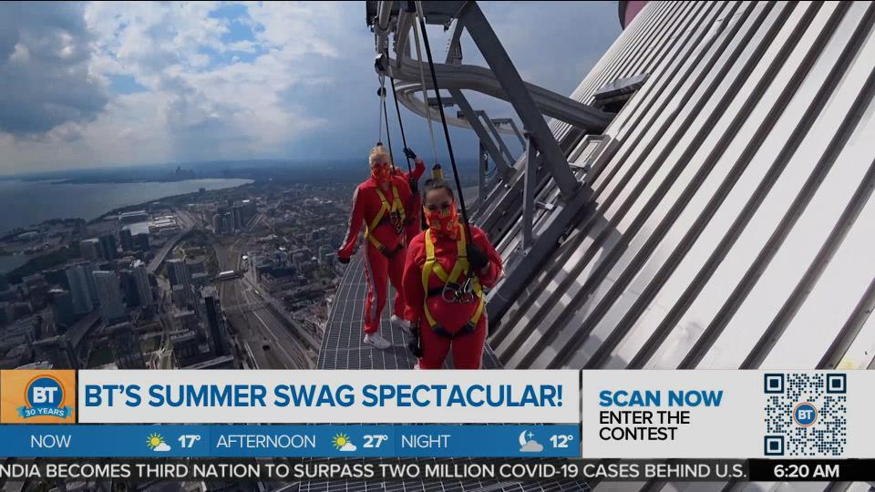 Summer Swag Spectacular: CN Tower Edge Walk