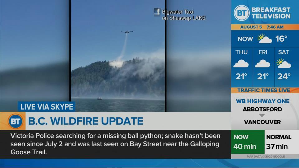 B.C. wildfire update