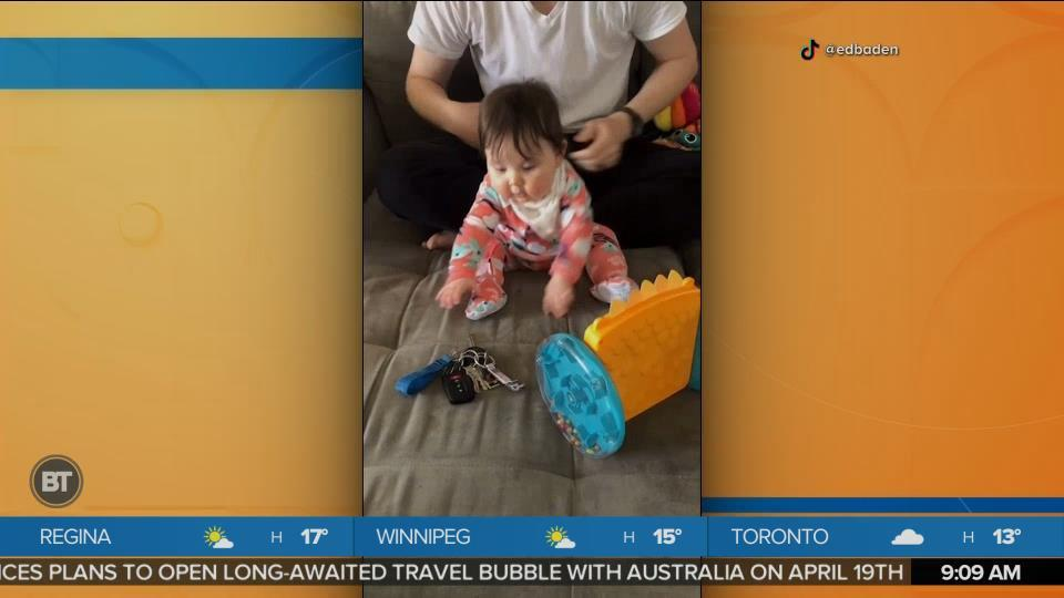 BT Bright Spot: This Baby Does Not Care About Their Toys
