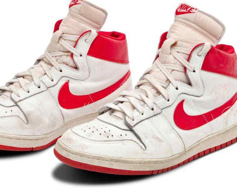 Michael Jordan's shoes have sold for 1.6Million!