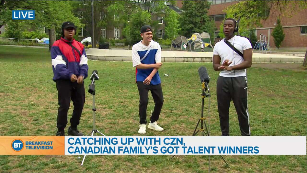 Catching up with Canadian Family's Got Talent Winners: CZN