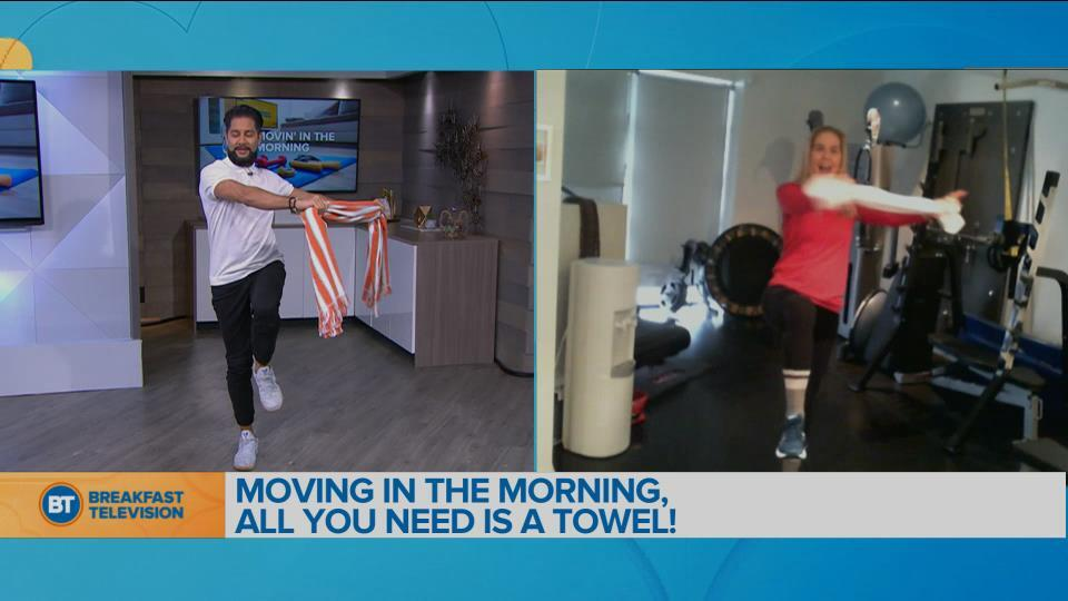 Movin' in the Morning With Kathleen Trotter!