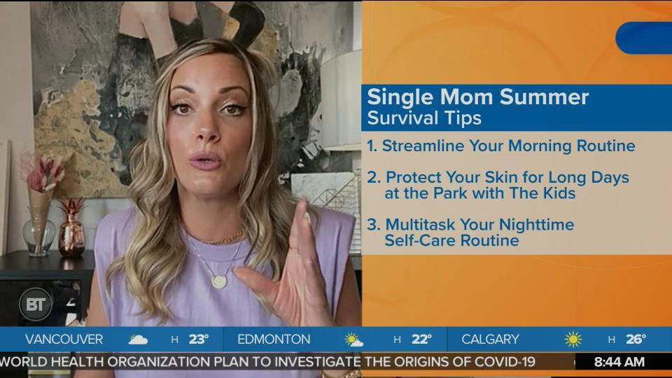 Keep Your Cool This Summer with Single Mom Survival Tips
