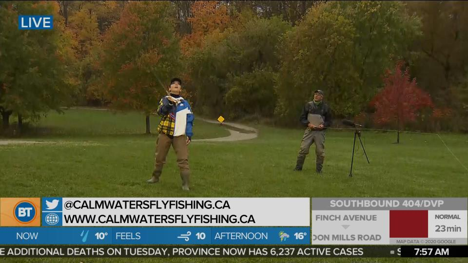 Nicole is LIVE at Calm Waters Fly Fishing (3 of 5)